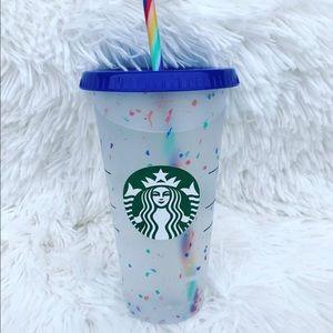 💥1 Starbucks 2020 limited edition confetti🌈 cup